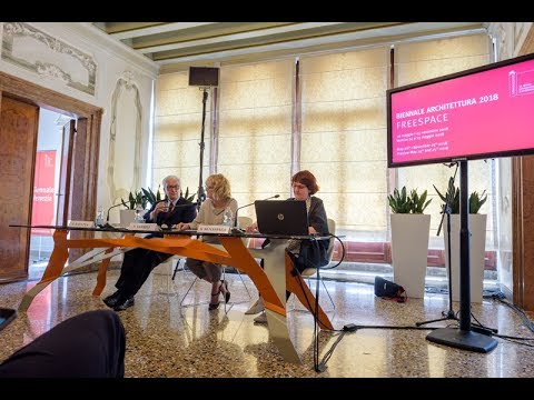 Biennale Architettura 2018 - Press conference (7 June 2017)