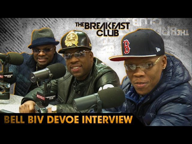 Bell Biv DeVoe Discusses The New Edition Story & More on The Breakfast Club