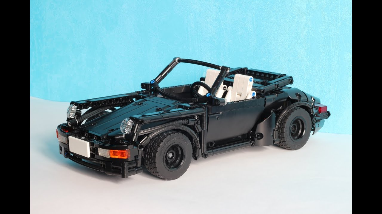 lego technic porsche 964 911 youtube. Black Bedroom Furniture Sets. Home Design Ideas