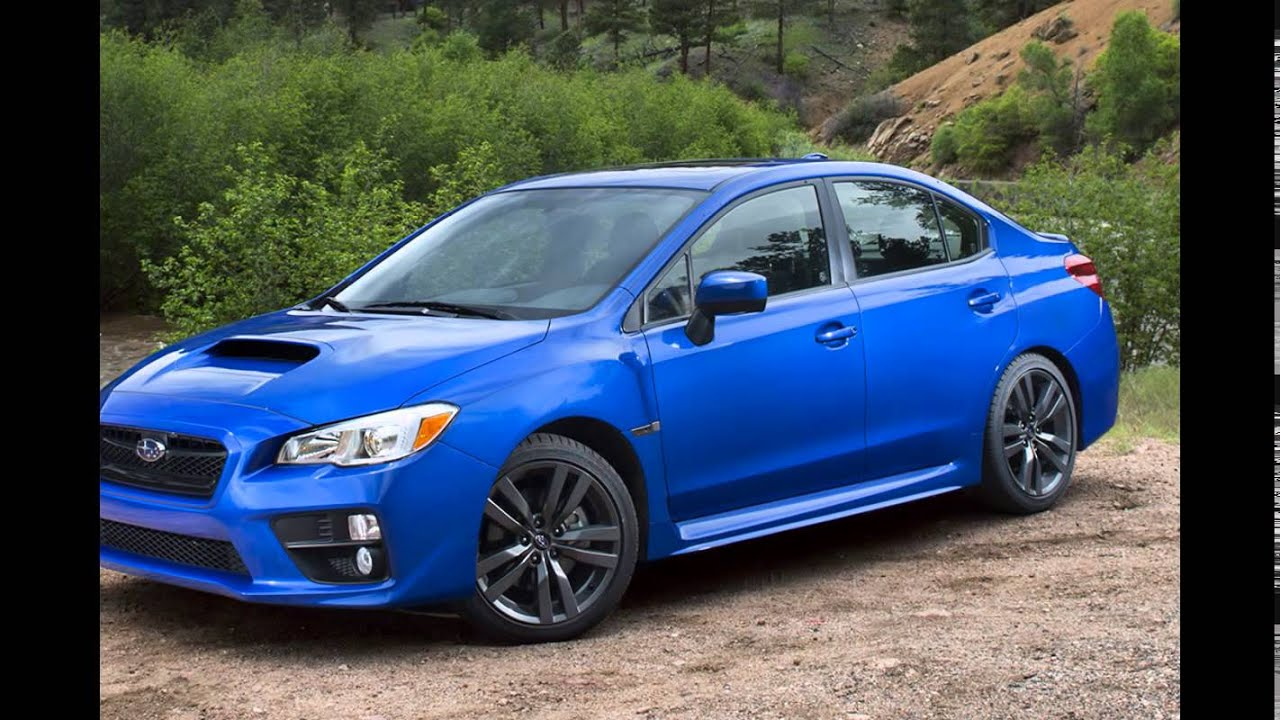 Subaru Wrx Sti For Sale >> 2016 Subaru WRX Blue Pearl - YouTube