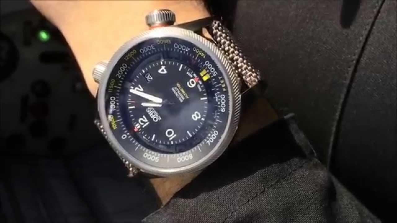 3a70a5913 Oris Big Crown ProPilot Altimeter Watch In Flight | aBlogtoWatch - YouTube