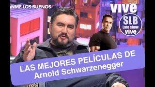 SLB. César Parra nos trae las mejores películas de Arnold Schwarzenegger