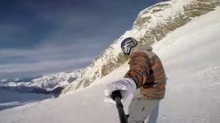 Alps/Mayrhofen/Hintertux 2015. Little freeride in Zillertal.