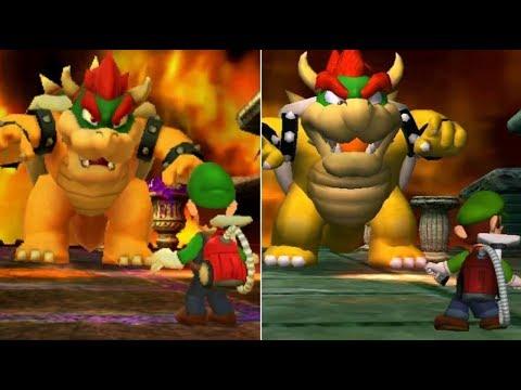 Luigi's Mansion Final Boss Comparison (3DS vs. Gamecube)