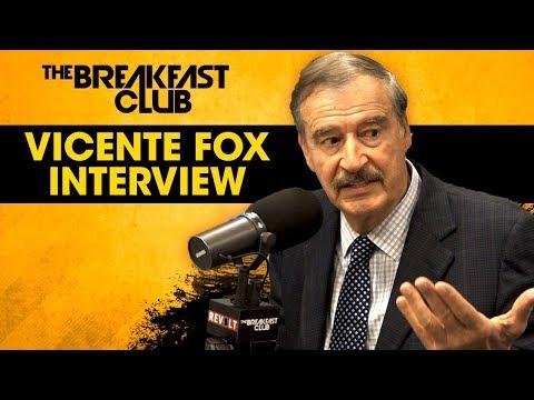 Former Prez Of Mexico Vicente Fox Talks Donald Trump, Spirituality In Politics, Oprah + More