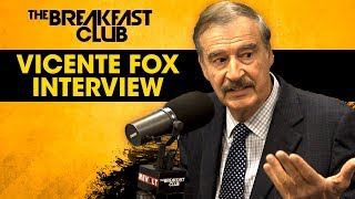 Former Prez Of Mexico Vicente Fox Talks Donald Trump, Spirituality In Politics, Oprah + More
