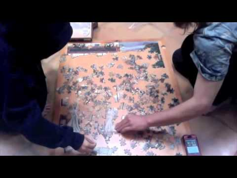 Fastest Time to Complete a 275 Piece Jigsaw Puzzle