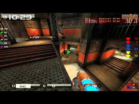 Quake Live: CTF - V1R7U4L vs nM - ironworks (2015)