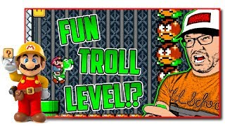 Super Mario Maker - The Equinox Troll Level Showcase