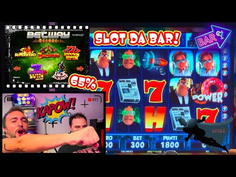 SLOT MACHINE da BAR - Scopriamo la BETWAY DELUXE (Bakoo) al 65%