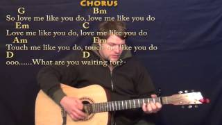 Love Me Like You Do (ELLIE GOULDING) Guitar Strum Cover Lesson with Chords/Lyrics