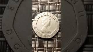 Rare 20 pence 1982