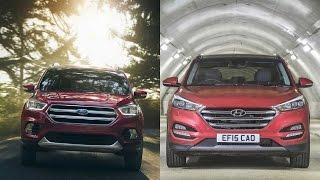2017 Ford Escape vs 2016 Hyundai Tucson
