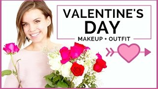 Valentine's Day Makeup Tutorial + Outfit! ◈ Ingrid Nilsen