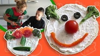 فوزي موزي وتوتي | DIY مع توتي | أوجه من الطعام مع توتي  | Tooti Edible Face