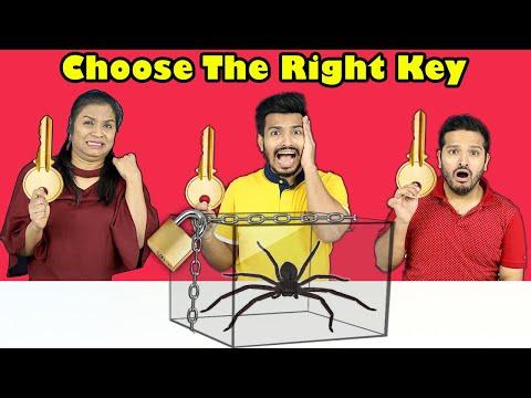 Choose The Right Key Challenge   Fun Challenge