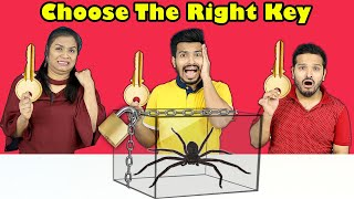 Choose The Right Key Challenge | Fun Challenge