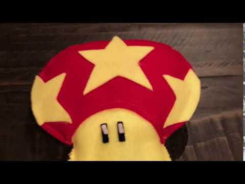 Mario Life mushroom power up plush