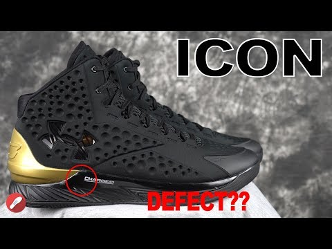 Under Armour Curry 1 ICON PAINT DEFECT???