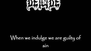 Deicide - Blame it on God(lyrics)