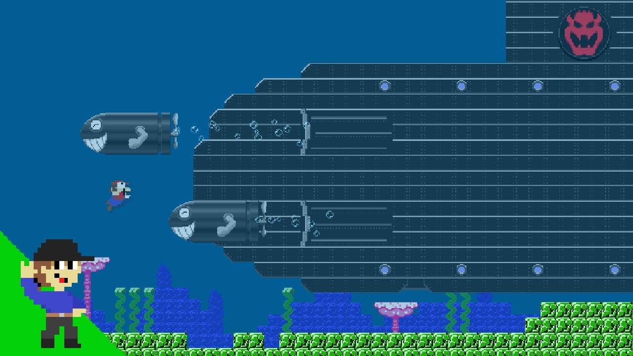Level UP: Mario vs Bowser's Mega Submarine