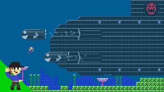 Level UP: Mario vs Bowser's Mega Submarine