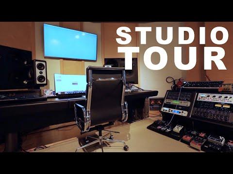 INSANE RECORDING STUDIO TOUR