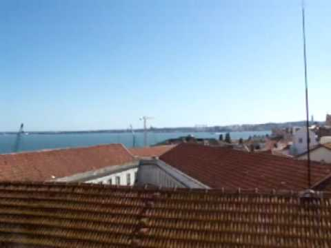 View from 3rd Floor of our Lisbon Apartments in Alfama, Lisboa