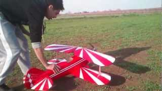 rc Pitts Special maiden flight