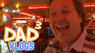 Dad³ Vlogs! - Arcade Day!