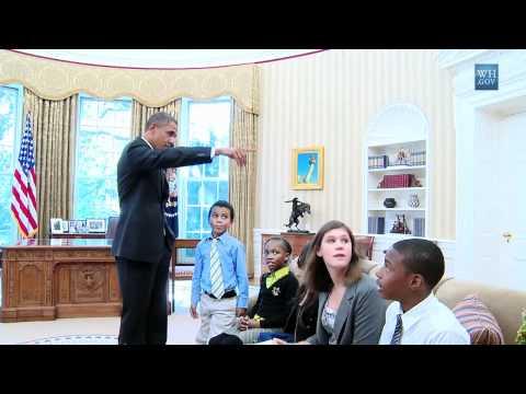 Kid Finds Hidden Oval Office Door