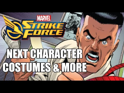 Marvel Strike Force - Next Character Confirmed, Costumes Teased and More (26/07/18)