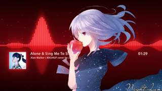 ▶【Electronic House】★ Alan Walker - Alone & Sing Me To Sleep ( MASHUP cover by J.Fla )