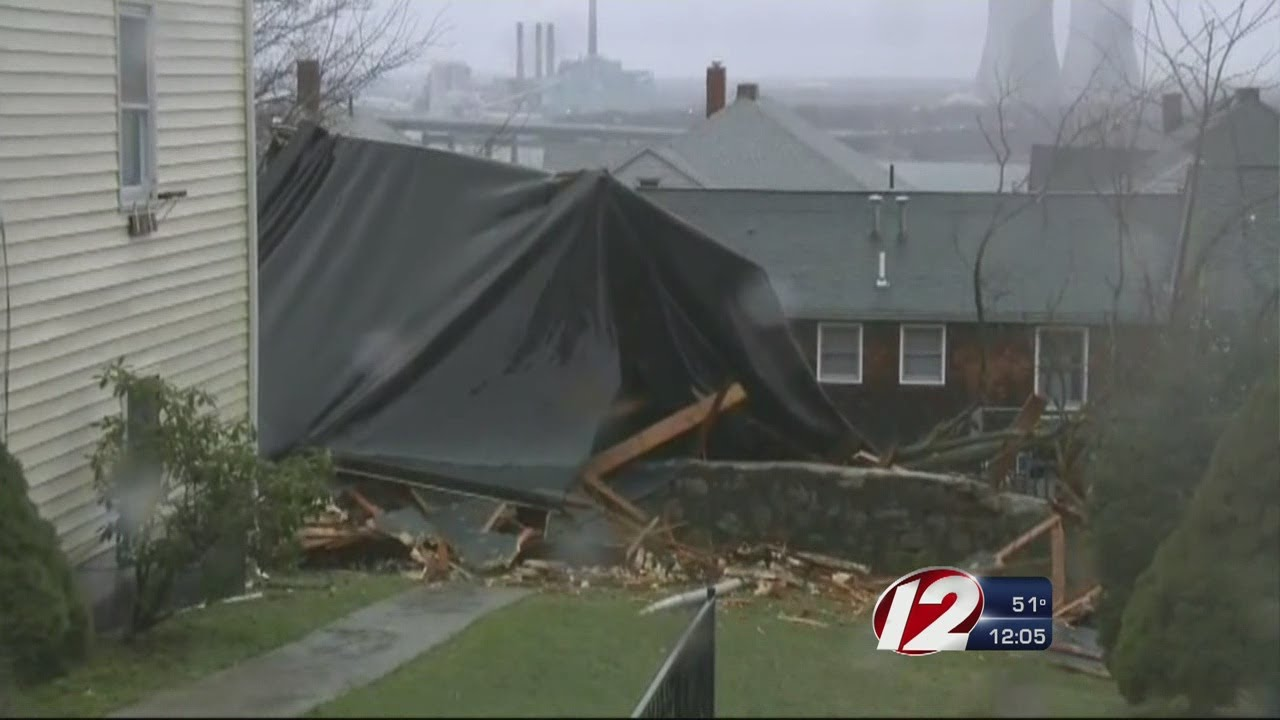 School In Fall River Has Roof Blown Off From High Winds