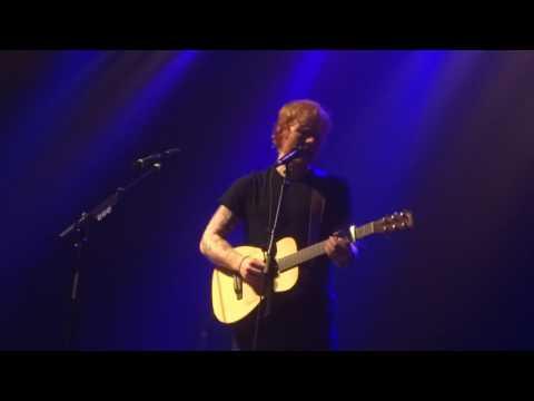 Ed Sheeran - Wayfaring Stranger/London Bridge @ Le Bataclan, Paris 27/11/14