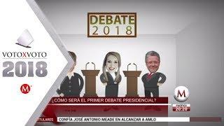 ¿Cómo será la dinámica del debate presidencial?