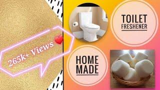 3 Ingredient Toilet Cleaning Bombs | DIY Homemade Toilet Freshner | In Hindi | DIY With RJ