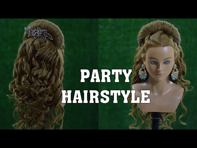 Party Hairstyle Step By Step Easy Party Hairstyle