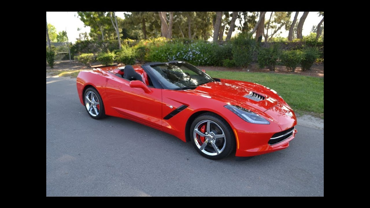 2014 chevrolet corvette stingray convertible adrenaline red for sale. Cars Review. Best American Auto & Cars Review