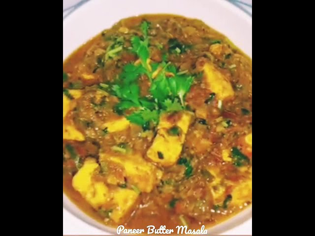 Easily homemade Paneer Butter Masala in simple steps #shorts