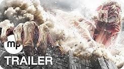 ATTACK ON TITAN 2 Trailer German Deutsch (2017)
