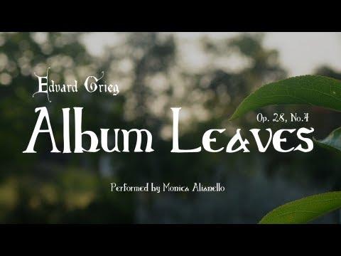 Edvard Grieg's Album Leaves, Op. 28, No. 4: Andantino serioso