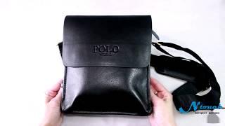 Мужская сумка планшет POLO  Обзор