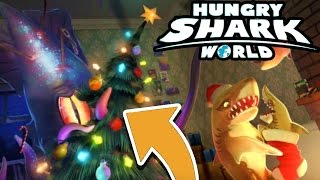 NEW BOSS IN HUNGRY SHARK WORLD...!!! | Hungry Shark World HUGE Christmas Update(Hungry Shark World Exclusive Announcement & Huge christmas update! New Accessories, New Shark & new Maps New Boss Squid Ink Character To Kill!, 2016-12-19T16:33:50.000Z)
