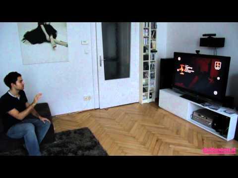 Xbox 360 Kinect Dashboard & Zune
