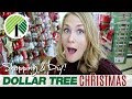DOLLAR TREE CHRISTMAS SHOP WITH ME! 🎄 DIY & stocking stuffers galore!
