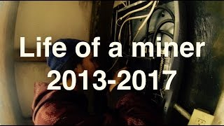 Life of a Miner, From Altcoins to Bitcoins over 4 years