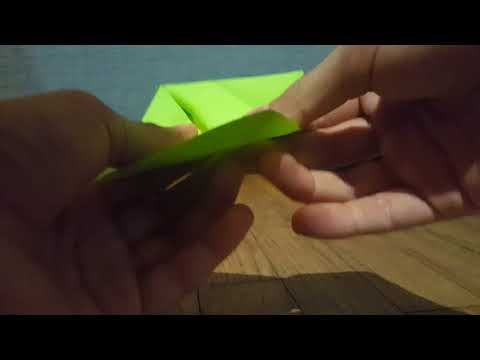 How to make a origami hat for stikbots