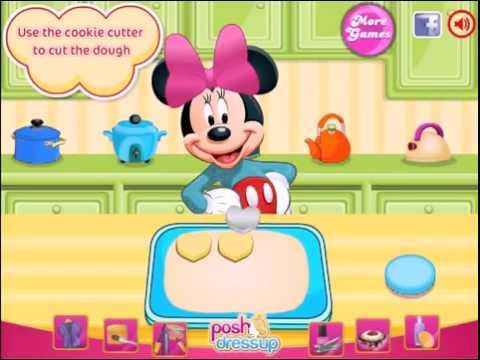 Topolino Gioco Di Cucina Mickey Mouse Cooking Minnie Kids Game