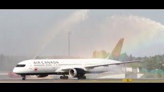 エア・カナダ「成田-モントリオール線」就航 成田空港で初めての直行便